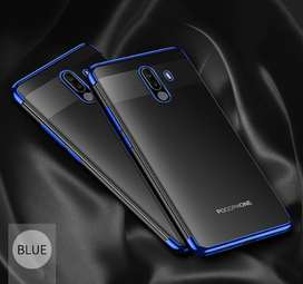 Case Fundas Xiaomi Pocophone Poco F1 silicona transparente