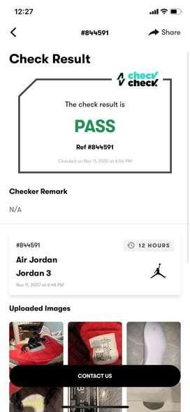 Jordan retro 3 originales/  usados