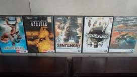 CD de juegos como nuevos