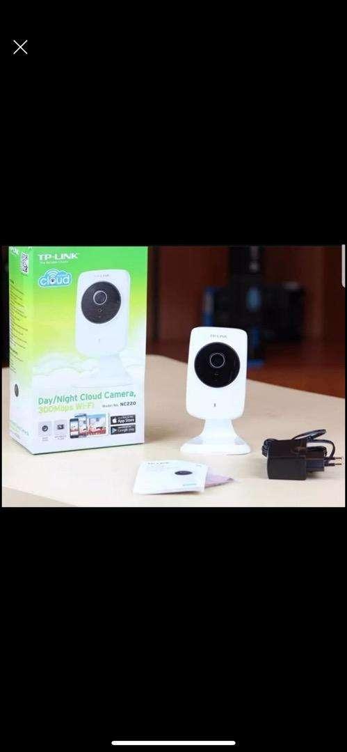 tp link cámara de seguridad impecable 0