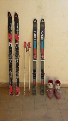 Esquíes Y Botas para Esquiar