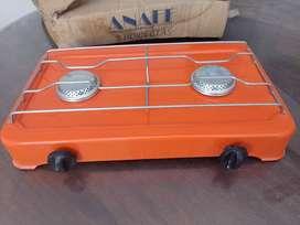 Anafe 2 hornallas gas