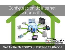 Configuración de internet a domicilio en PC Mac