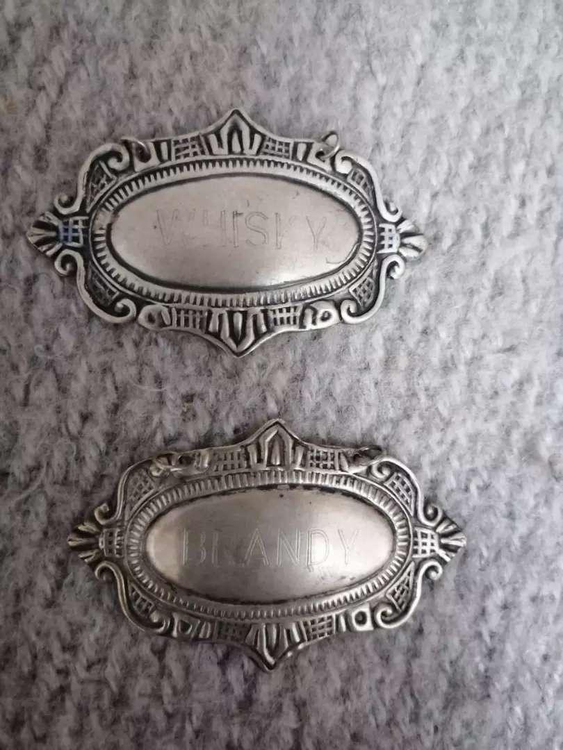 Placas en plata