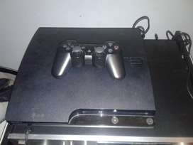 PS3 Slim 160 gb Con juegos y caja
