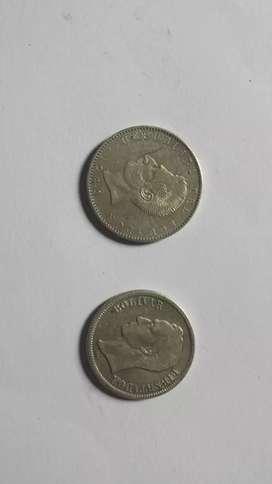 Vendo monedas antiguas de plata
