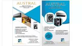 Servicio técnico para aire acondicionado y refrigeracion
