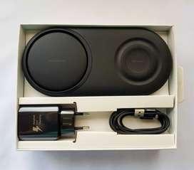 Cargador inalámbrico carga rápida Samsung duo pad original
