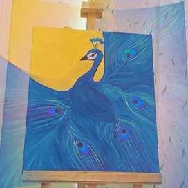 Cuadros en canvas pintadas con acrilico hechas a mano