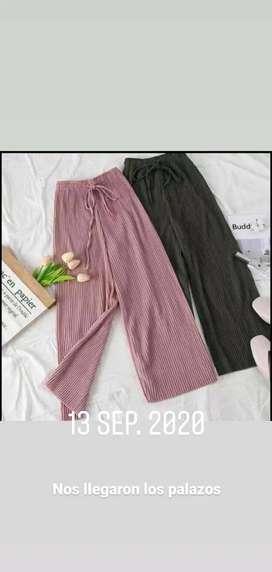 Pantalones palazos