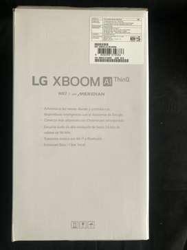 extrena hoy parlantes inteligentes de LG wk7 $330k
