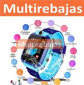 Smartwatch Reloj Celular Para Niños Con Gps