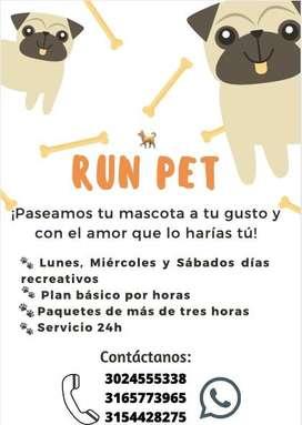 RUN PET paseadores