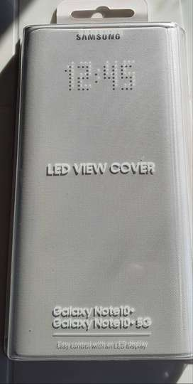 Cover Led View Galaxy Note 10 + Plus Led View  Cover Funda Original