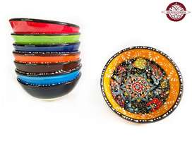 Vasijas en cerámica 12.5 cm