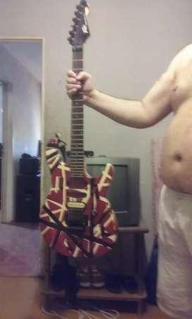 Guitarra pavy predador limitación edy vavan halen