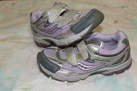 zapatillas saucony usadas para dama