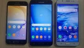 Samsung Galaxy J7 6 y J5 Prime Libres