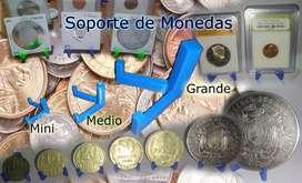 Soporte de monedas