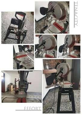 Plotter de impresión digital 2 metros + Laminadora + sierra eléctrica + ruteadora + rack de material impresión.