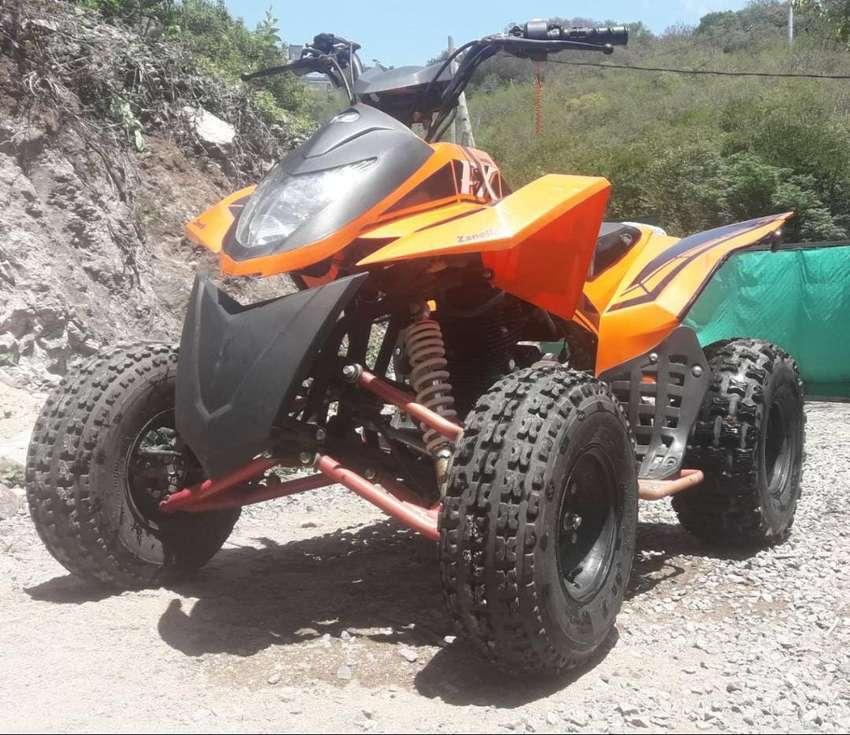 Cuatriciclo Zanella fx 150cc 0