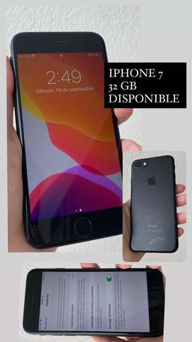 Iphone 7 en perfecto estado.