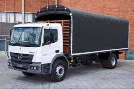 Atego 1726 Camión Sencillo 10 Toneladas Estacas Mercedes Freightliner