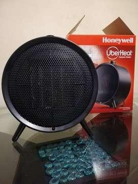 CALEFACTOR Redondo Honeywell 900W - 1500W, color negro