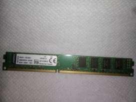 Memoria ddr3 de 8gb para PC