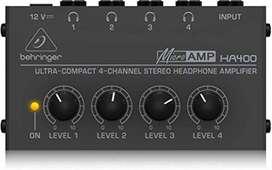 Amplificador de Audifonos BEHRINGER HA400
