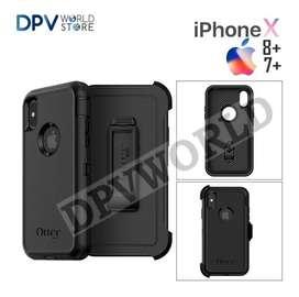 Estuche iPhone Xs Xs Max Xr Otterbox Defender iPhone Antigolpes