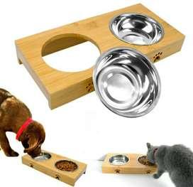 Hermosos comedores para perros y gatos