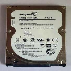Disco duro para portátil HDD DE 500 GB POCO USO