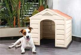 Casa para Perros Raza Mediana Y Pequeña