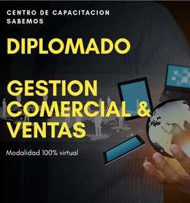 Diplomado en Gestion Comercial y Ventas