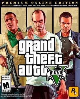 GTA 5 - grand theft auto v - Premium Online Edition