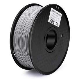 Filamento Pla 1.75mm 1kg  color  plata