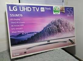 """Tv lg 55"""" 55UM7650 pantalla dañada"""