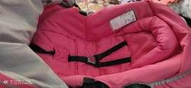 Se vende coche para bebé con silla para carro infanti