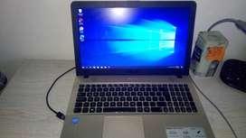 vendo laptop Asus X541S