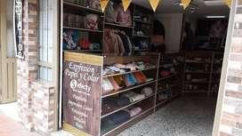 Mobiliario para Efecty y papelería, miscelaneos y/o almacén de ropa