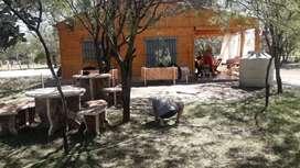 Vdo cabaña en termas de Río Hondo
