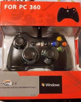 Control Gamepad Usb Para Pc Diseño Tipo X-box 360