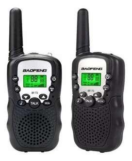 Boquitoquis Baofeng Bf -t3 Radio Telefono Inalambrico 5k X2