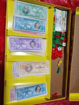 Juego Familiar Monopoly  Tio Rico Mc. Pato