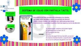 TURNERO BALAUSTRES  BOTONERA ELECTRONICA INCOTEL SAN MIGUEL