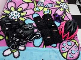 Vendo kit de patinaje marca canarian en perfecto estado
