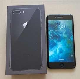 Vendo iphone 8 plus con bateria nueva
