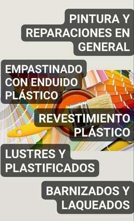 PINTOR Y REPARACIONES EN GENERAL