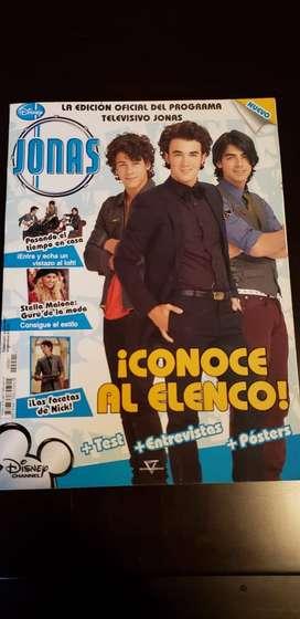 JONAS LA dos revistas